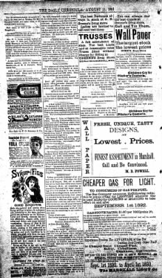 The Daily Chronicle from Centralia, Washington on August 11, 1893 · Page 4