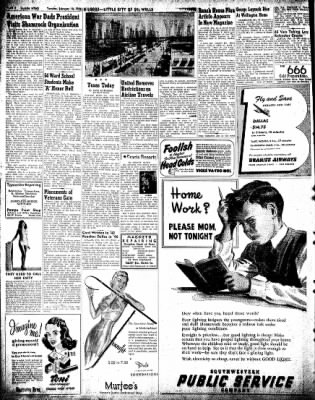 Pampa Daily News from Pampa, Texas on February 12, 1946 · Page 2