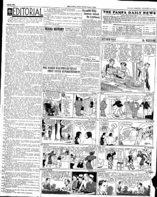 Pampa Daily News from Pampa, Texas on January 20, 1935 · Page 2