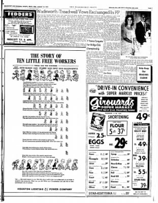 The Brazosport Facts from Freeport, Texas on August 15, 1962 · Page 7