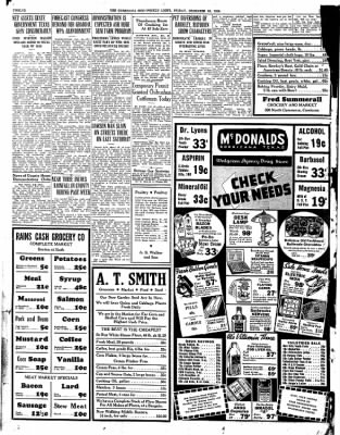 Corsicana Semi-Weekly Light from Corsicana, Texas on December 30, 1938 · Page 12