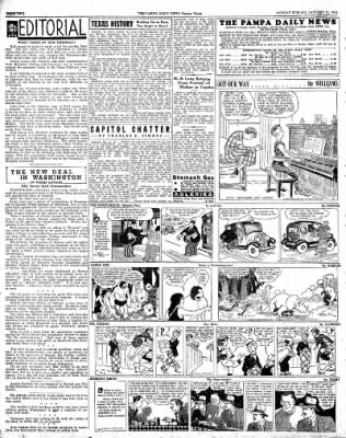 Pampa Daily News from Pampa, Texas on January 21, 1935 · Page 2