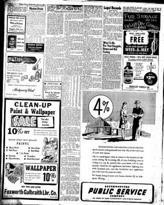 Pampa Daily News from Pampa, Texas on June 4, 1947 · Page 4
