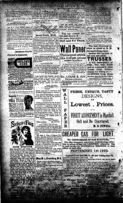 The Daily Chronicle from Centralia, Washington on August 21, 1893 · Page 4