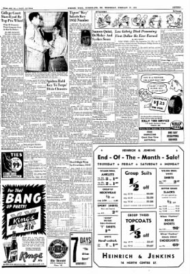 Cumberland Evening Times from Cumberland, Maryland on February 27, 1952 · Page 15