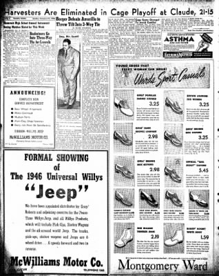Pampa Daily News from Pampa, Texas on February 17, 1946 · Page 4