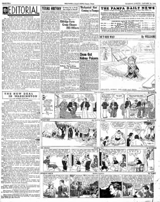 Pampa Daily News from Pampa, Texas on January 24, 1935 · Page 2