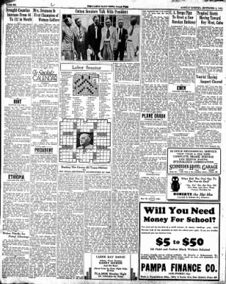 Pampa Daily News from Pampa, Texas on September 2, 1935 · Page 6