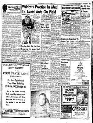 The Brazosport Facts from Freeport, Texas on December 16, 1960 · Page 6