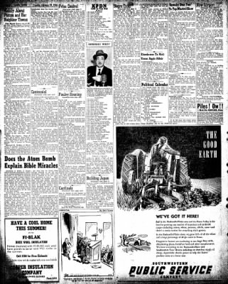 Pampa Daily News from Pampa, Texas on February 19, 1946 · Page 8