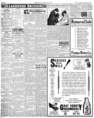 Pampa Daily News from Pampa, Texas on January 25, 1935 · Page 5