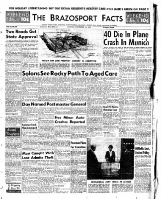 The Brazosport Facts from Freeport, Texas on December 18, 1960 · Page 1