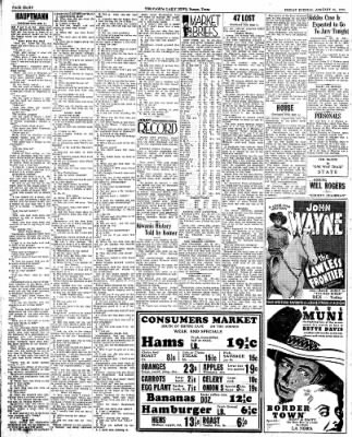 Pampa Daily News from Pampa, Texas on January 25, 1935 · Page 7