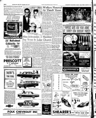 The Brazosport Facts from Freeport, Texas on August 23, 1962 · Page 6