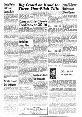 Garden City Telegram from Garden City, Kansas on August 24, 1963 · Page 8