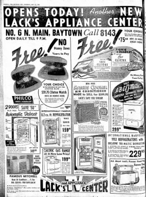 The Baytown Sun from Baytown, Texas on May 22, 1952 · Page 24