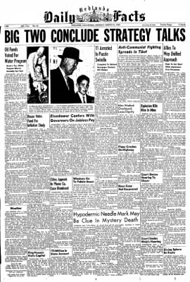 Redlands Daily Facts from Redlands, California on March 23, 1959 · Page 1