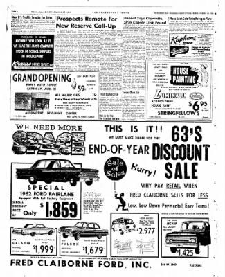 The Brazosport Facts from Freeport, Texas on August 24, 1962 · Page 8