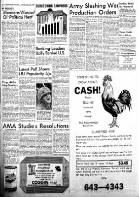 Brownwood Bulletin from Brownwood, Texas on November 27, 1967 · Page 10