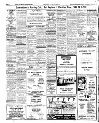 The Brazosport Facts from Freeport, Texas on August 26, 1962 · Page 10