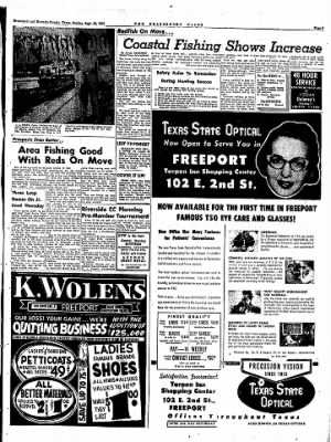 The Brazosport Facts from Freeport, Texas on September 20, 1959 · Page 9
