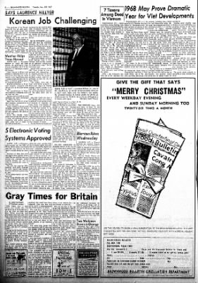 Brownwood Bulletin from Brownwood, Texas on November 28, 1967 · Page 4
