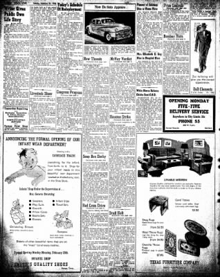 Pampa Daily News from Pampa, Texas on February 24, 1946 · Page 8