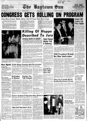 The Baytown Sun from Baytown, Texas on January 12, 1954 · Page 1