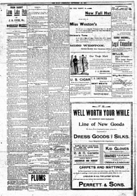 The Daily Chronicle from Centralia, Washington on September 16, 1897 · Page 3