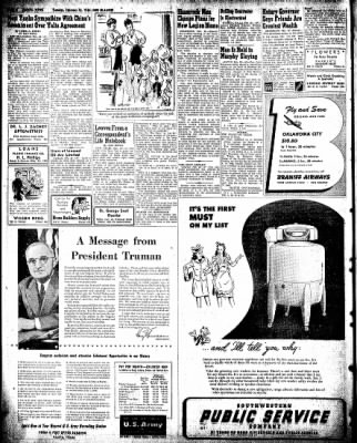 Pampa Daily News from Pampa, Texas on February 26, 1946 · Page 2