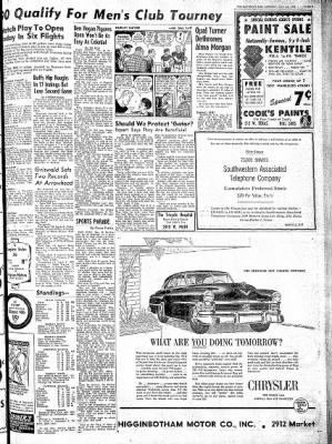 The Baytown Sun from Baytown, Texas on May 26, 1952 · Page 9