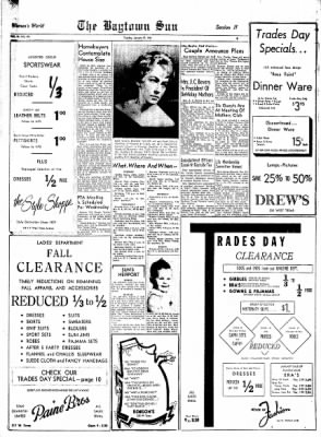 The Baytown Sun from Baytown, Texas on January 17, 1961 · Page 9
