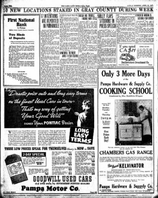 Pampa Daily News from Pampa, Texas on April 18, 1937 · Page 2