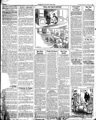 Pampa Daily News from Pampa, Texas on April 18, 1937 · Page 6