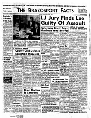 The Brazosport Facts from Freeport, Texas on September 25, 1959 · Page 1