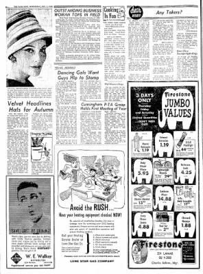 The Paris News from Paris, Texas on October 5, 1960 · Page 6