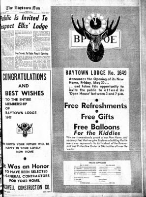 The Baytown Sun from Baytown, Texas on May 28, 1952 · Page 9