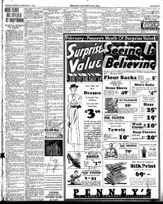 Pampa Daily News from Pampa, Texas on February 4, 1935 · Page 7