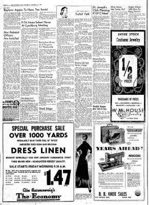The Baytown Sun from Baytown, Texas on January 14, 1954 · Page 16