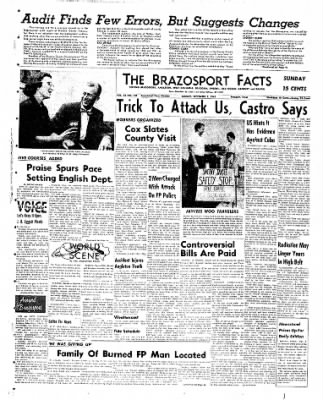 The Brazosport Facts from Freeport, Texas on September 2, 1962 · Page 1