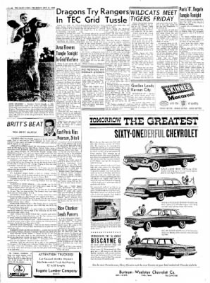 The Paris News from Paris, Texas on October 6, 1960 · Page 6