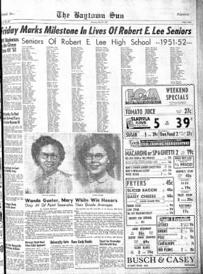 The Baytown Sun from Baytown, Texas on May 29, 1952 · Page 9
