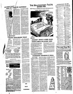The Brazosport Facts from Freeport, Texas on December 28, 1960 · Page 4