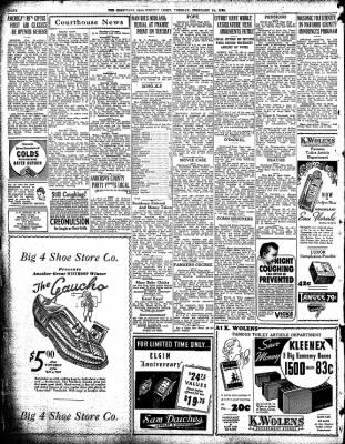 Corsicana Semi-Weekly Light from Corsicana, Texas on February 14, 1939 · Page 8