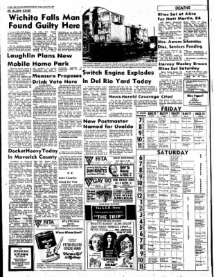 Del Rio News Herald from Del Rio, Texas on April 16, 1971 · Page 2
