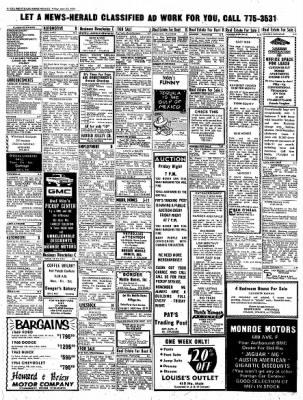 Del Rio News Herald from Del Rio, Texas on April 16, 1971 · Page 6