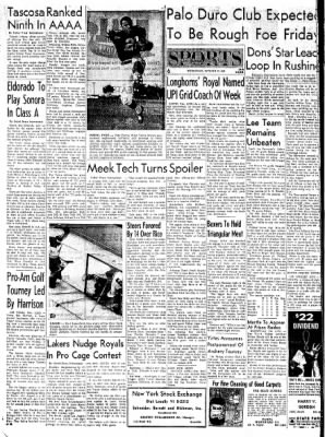Pampa Daily News from Pampa, Texas on October 25, 1961 · Page 6