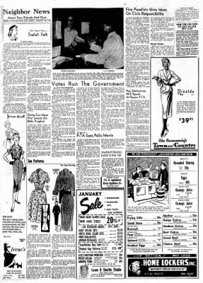 The Baytown Sun from Baytown, Texas on January 15, 1954 · Page 6