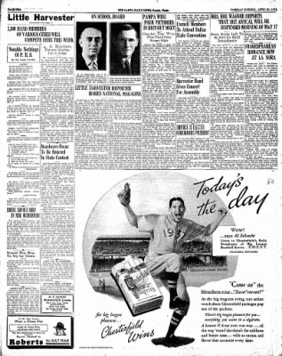 Pampa Daily News from Pampa, Texas on April 20, 1937 · Page 10