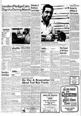 Garden City Telegram from Garden City, Kansas on August 27, 1963 · Page 1